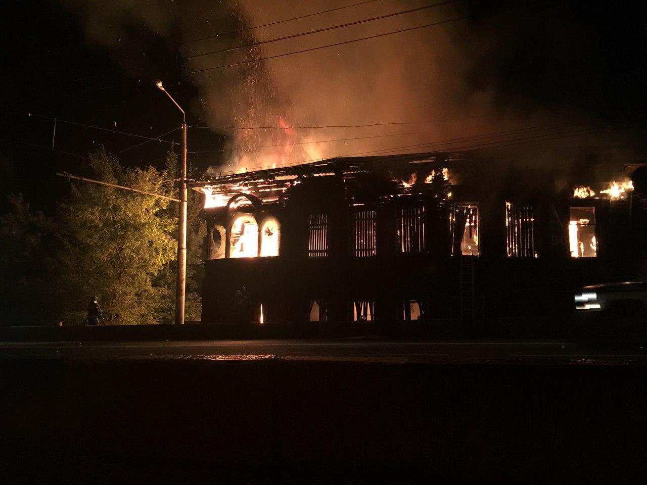 В Вологде сгорел последний дом со штурвалами