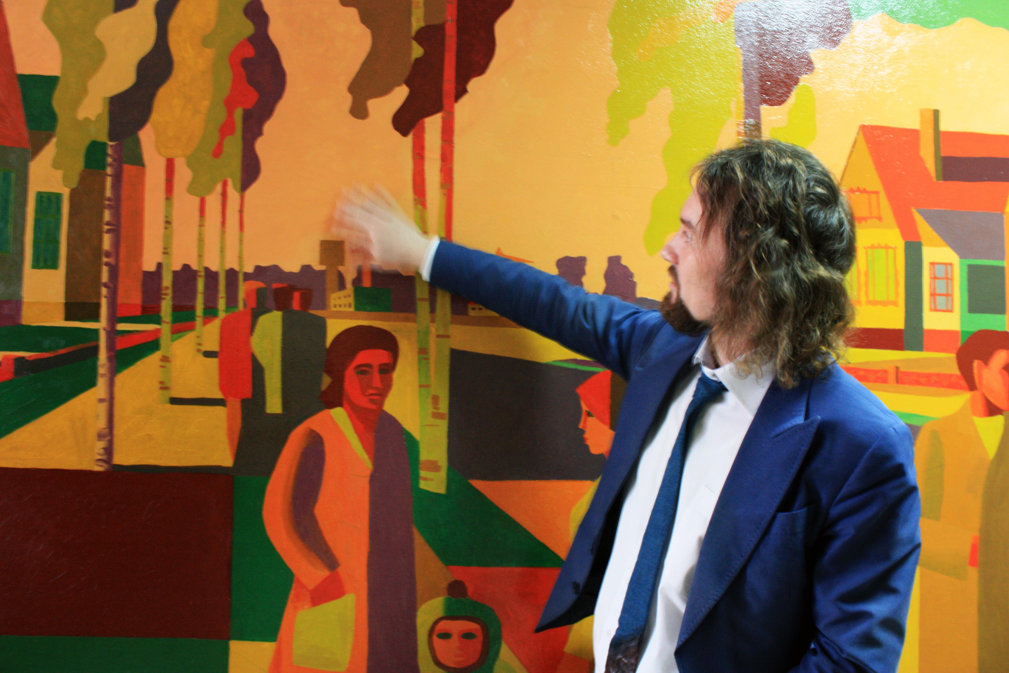 В Вологде отреставрировали образец советской монументальной живописи