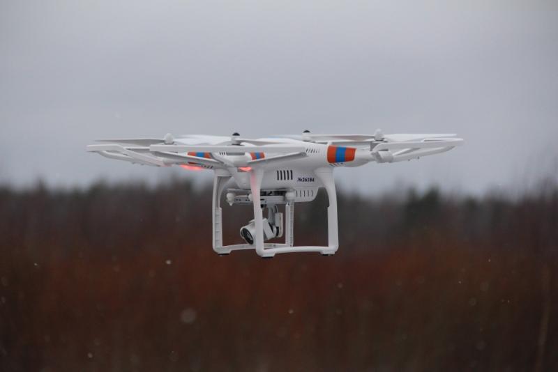 Квадрокоптер будет искать торфяные пожары в Вологодской области