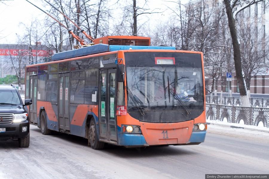 Троллейбусное движение в Вологде может стать медленнее: из-за долгов им ограничили подачу электроэнергии