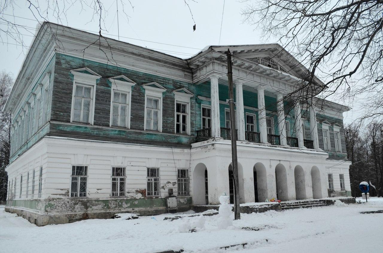 Усадьба Спасское-Куркино перешла в собственность Вологодского района