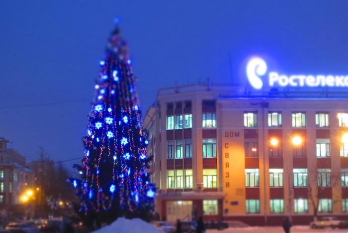 Более 14,5 миллионов рублей потратят на подготовку и проведение Нового года в Вологде