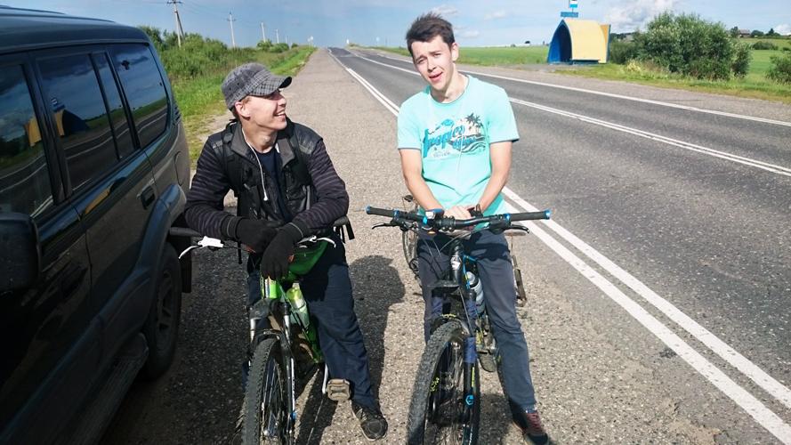 Вологжане отправились в Сочи на велосипедах