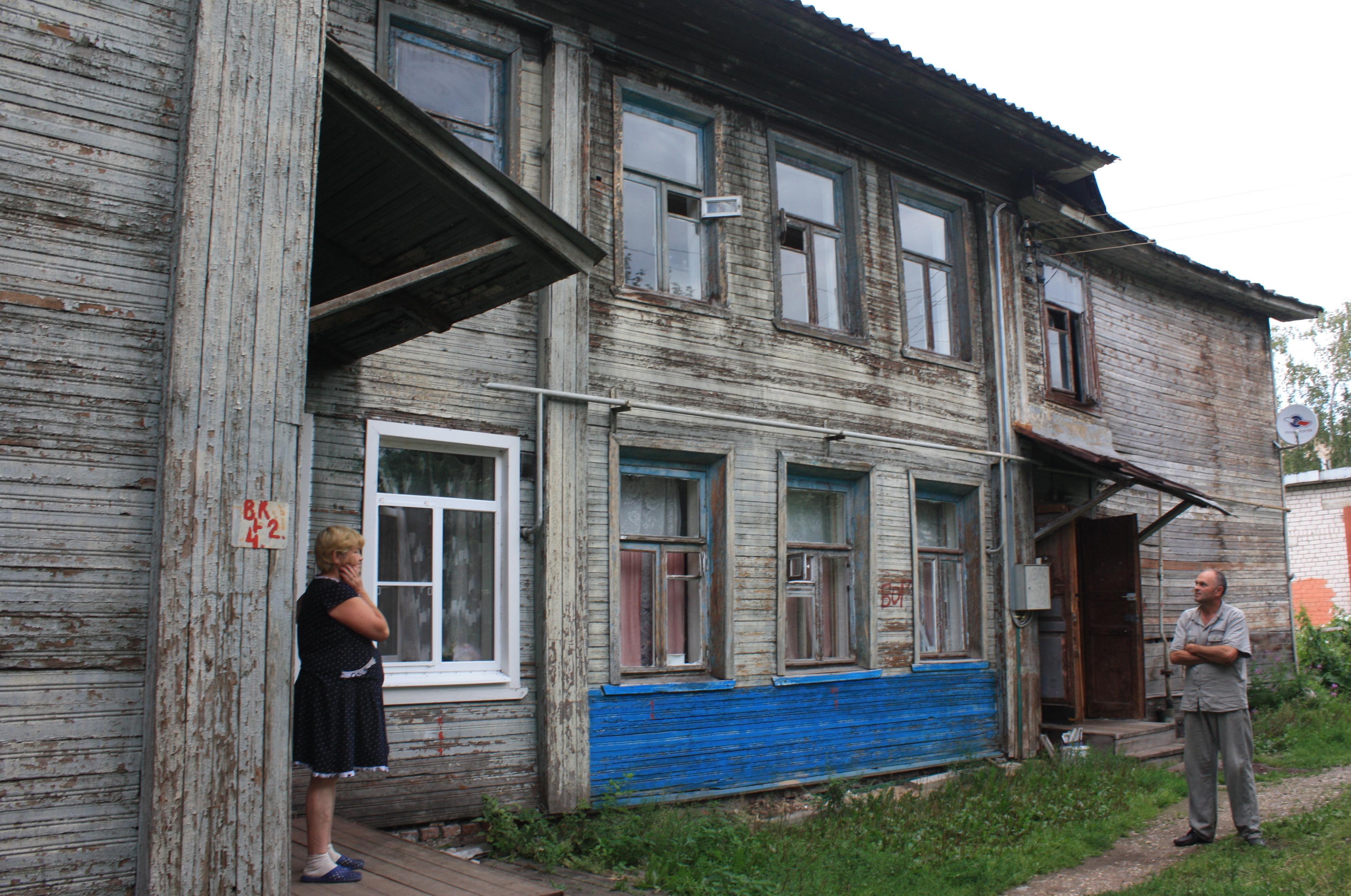 Жильцам аварийного дома в центре Вологды предлагают снести его за свой счет