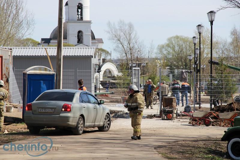 Причиной гибели двух череповчан в парке Победы мог стать взрыв газового оборудования