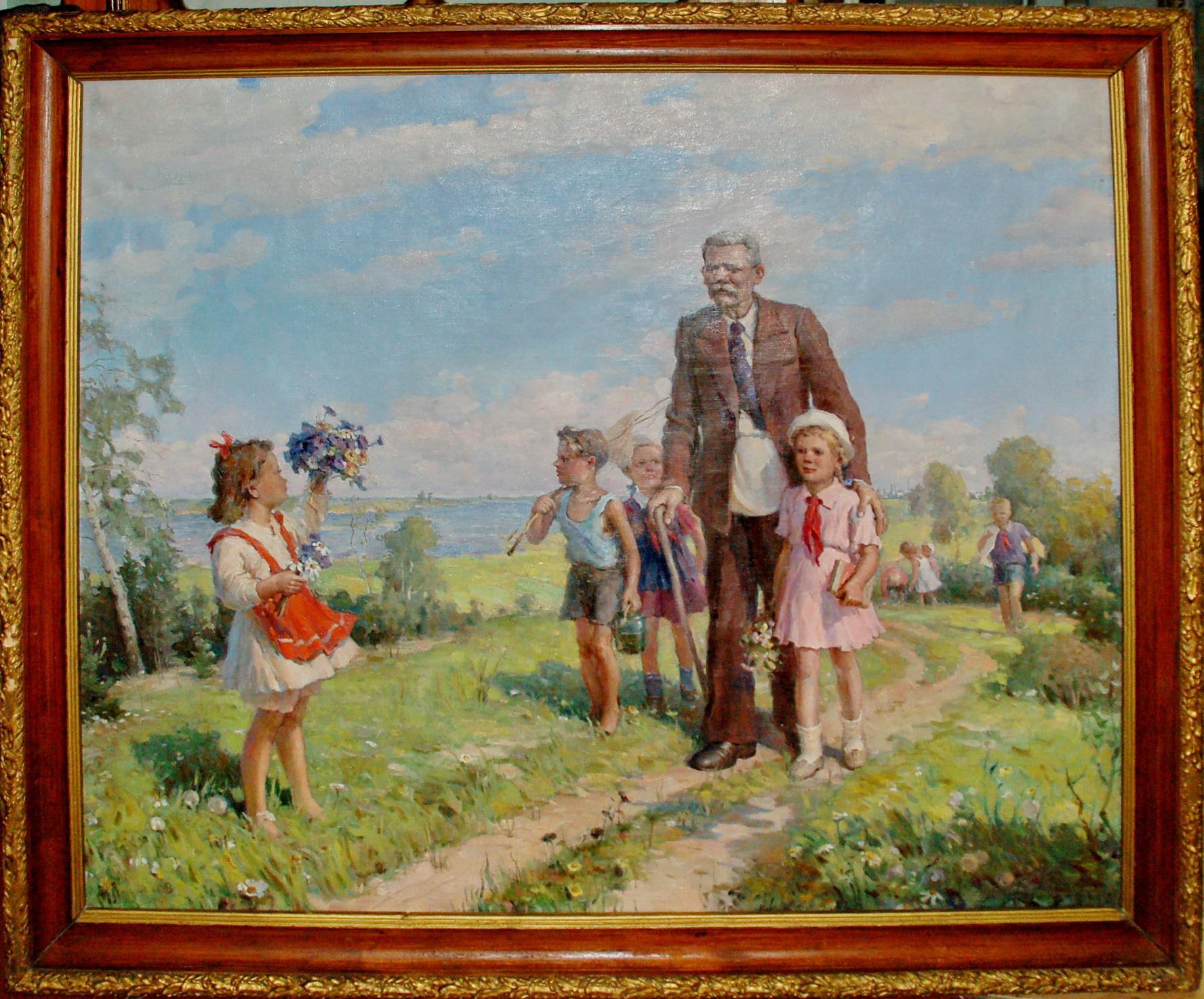 «Страну Советов» покажут посетителям в художественном отделе Вологодского кремля