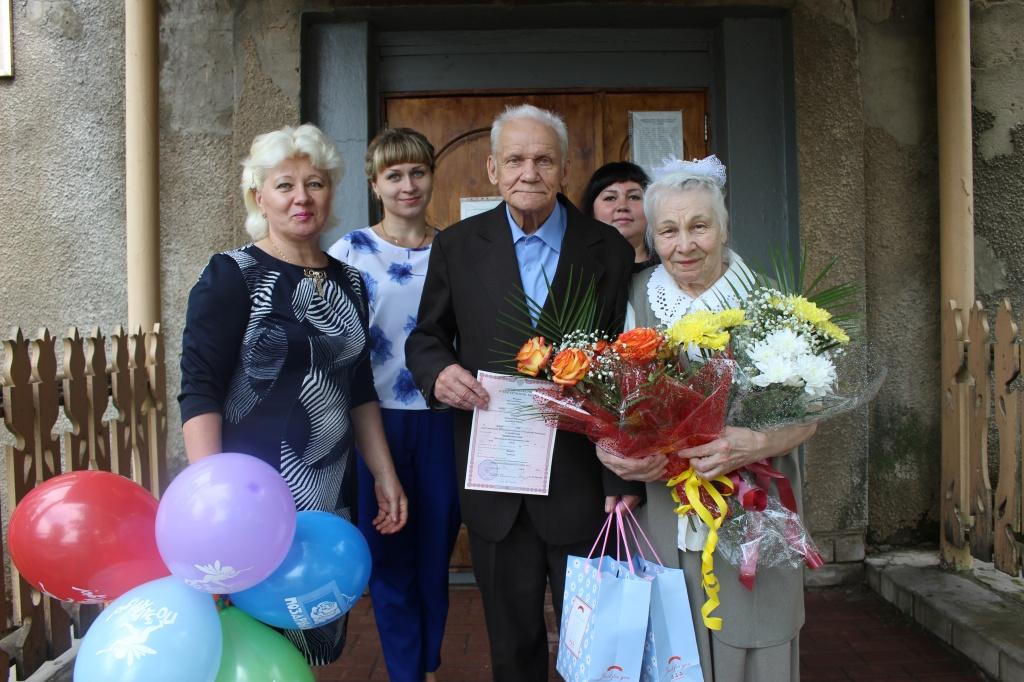 Первую свадьбу в доме престарелых отпраздновали в Бабушкинском районе