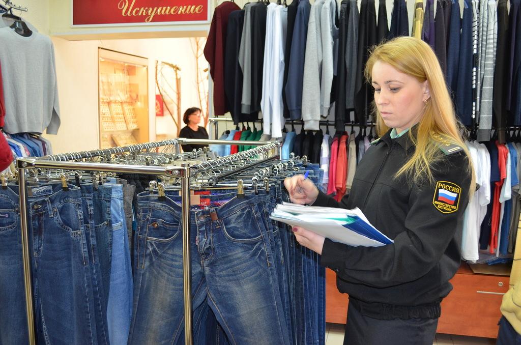 У вологодских бизнесменов арестовывают шкафы джинсы, холодильники