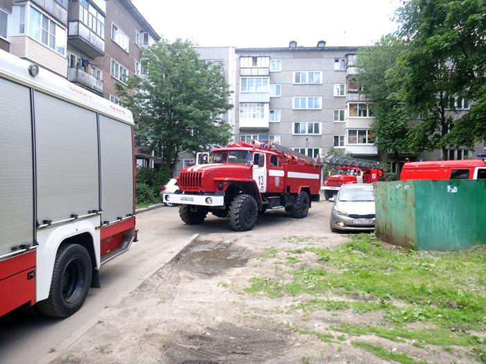 Яичница и чай привели к пожарам в Вологодской области