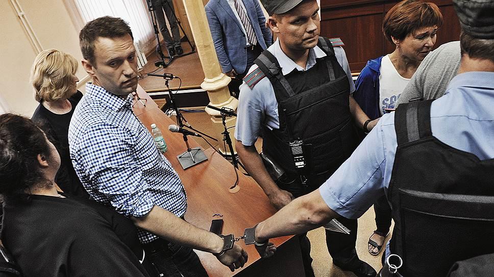 """ЕСПЧ признал нарушение прав Алексея Навального в деле """"Кировлеса"""""""