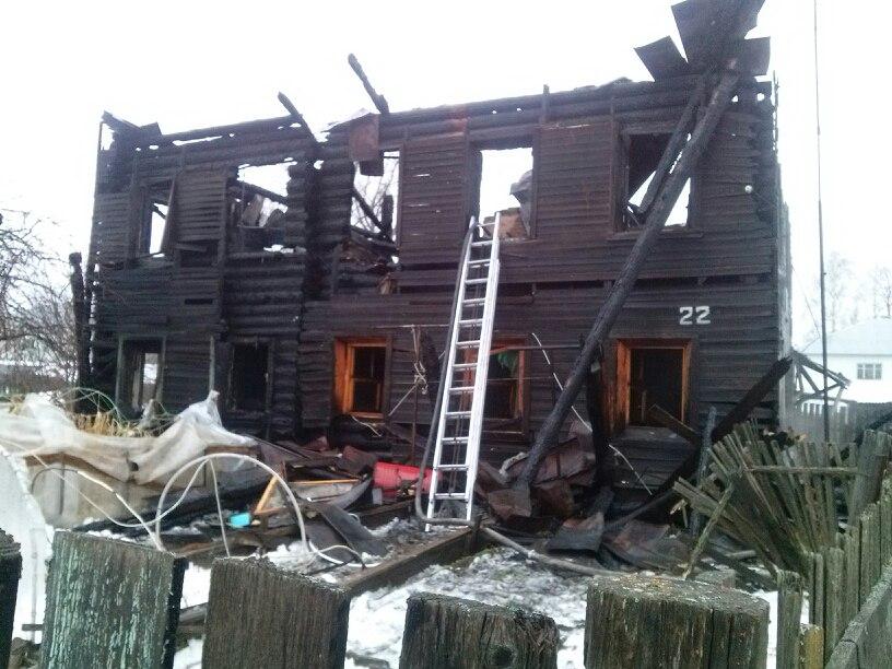 В Соколе пьяный мужчина погиб во время пожара в своей квартире