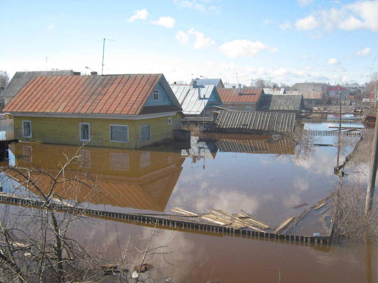 Из федерального бюджета пострадавшим от половодья в Великоустюгском районе направят 420 млн рублей