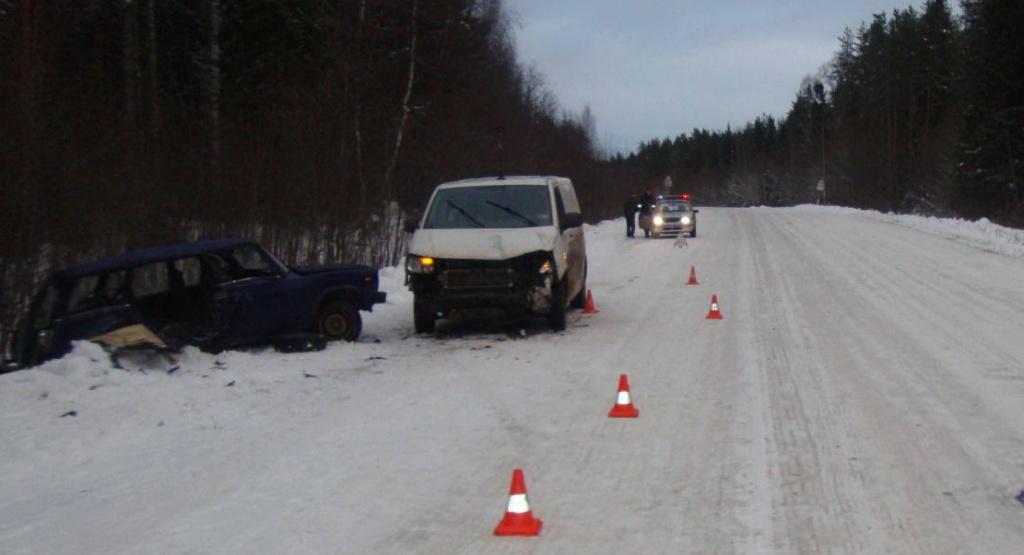 Женщина погибла в аварии в Вологодской области