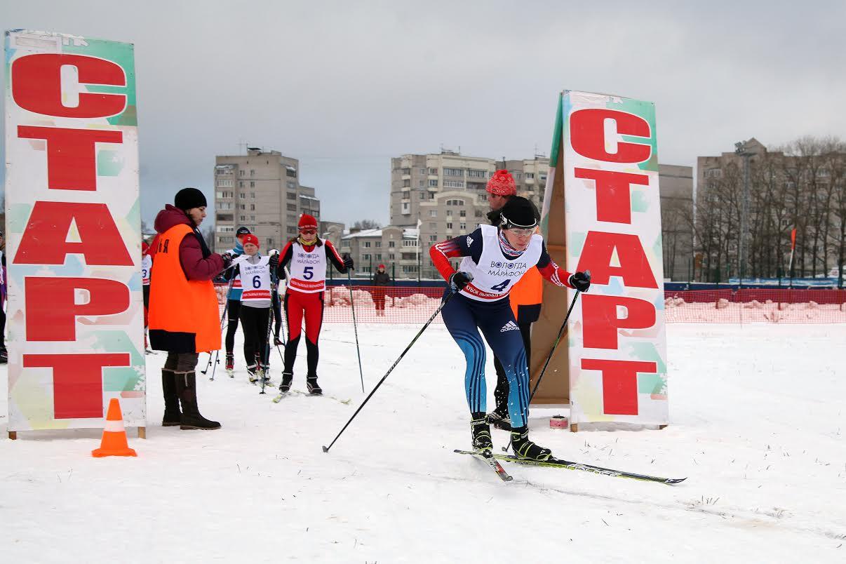 Новогодняя лыжная гонка прошла в Вологде