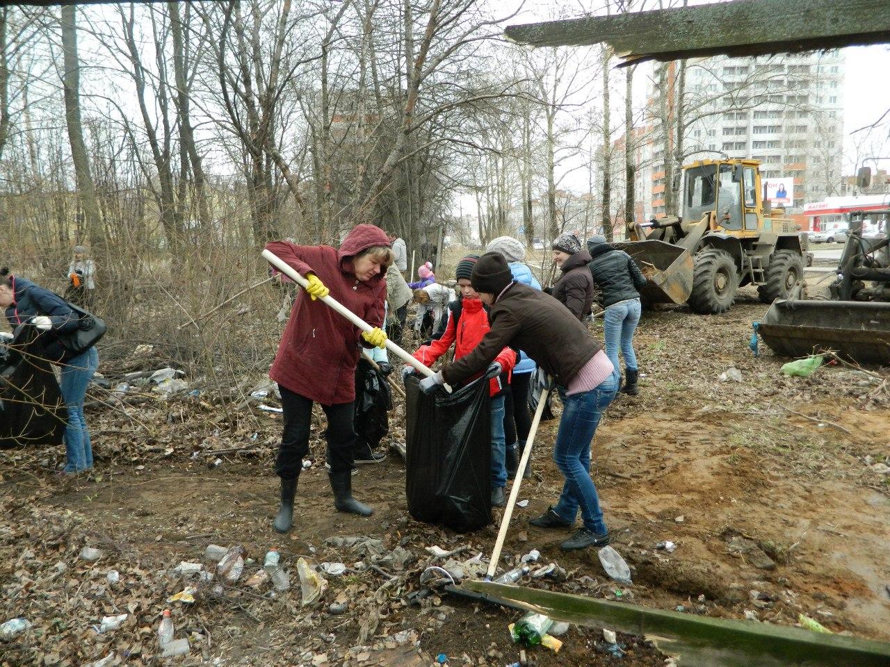 В Вологде собрали более 2,5 тысяч мешков мусора