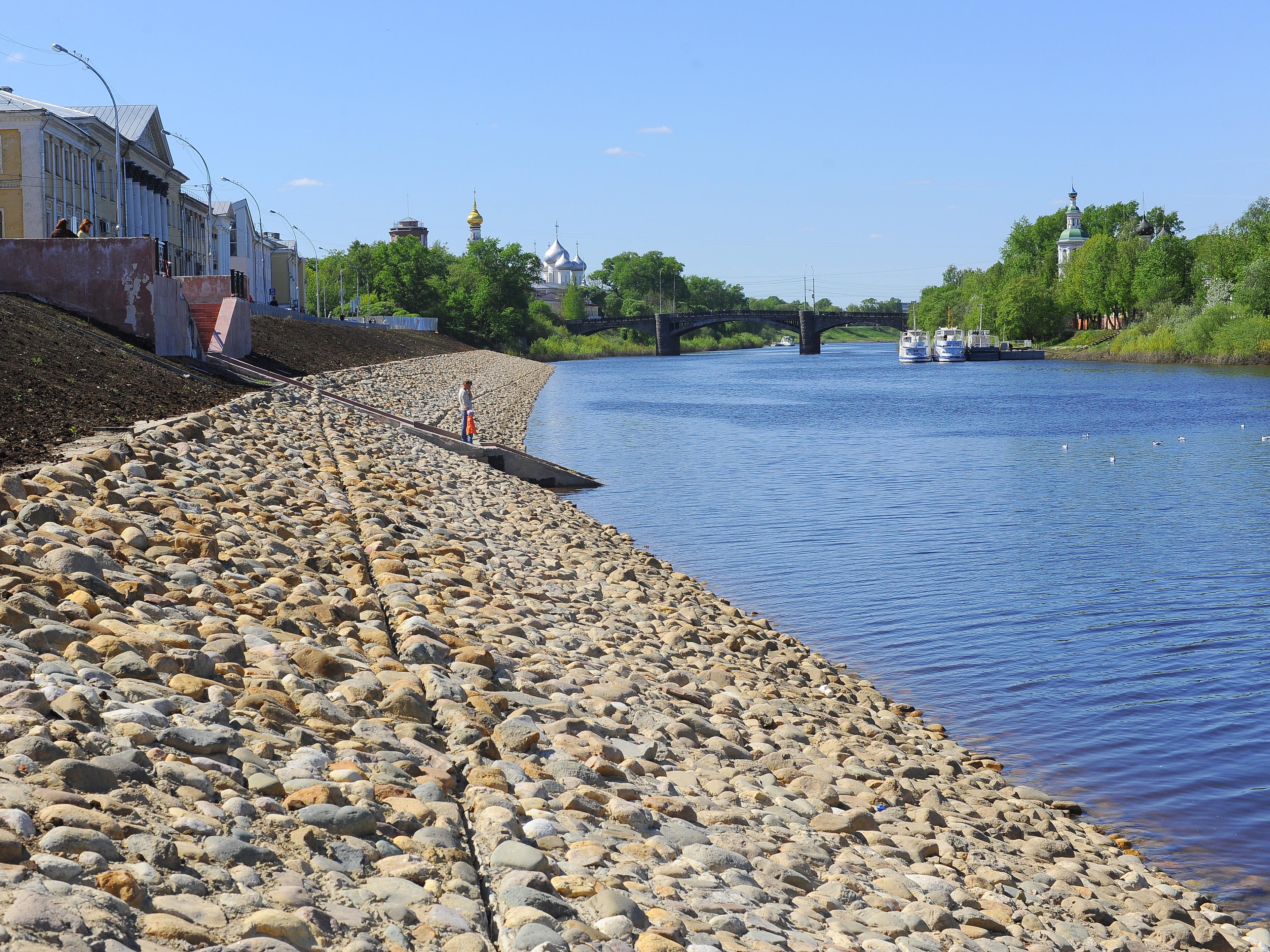 Ремонт новой набережной в Вологде обещают завершить к 20 июня