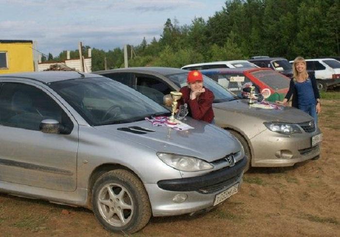 Спортсмены из Вологды стали победителями областных соревнований по автомобильному спорту