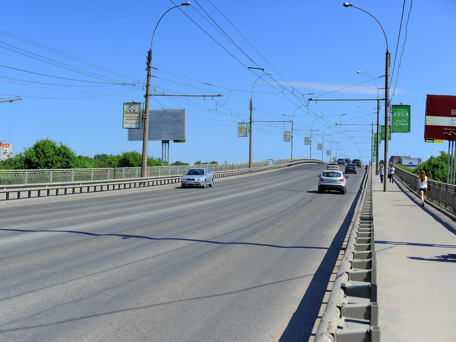 В Вологде после ремонта открыли Ленинградский мост