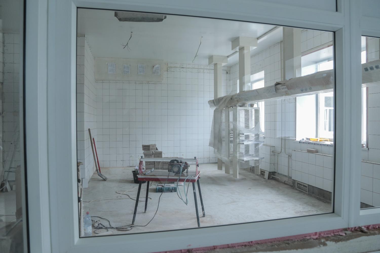 Капремонт в больнице №1 Вологды завершат к началу зимы