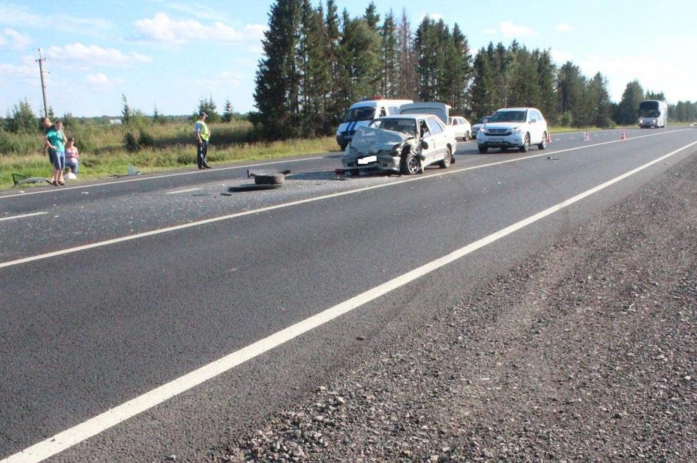 Пять человек пострадали в ДТП в Вологодском районе