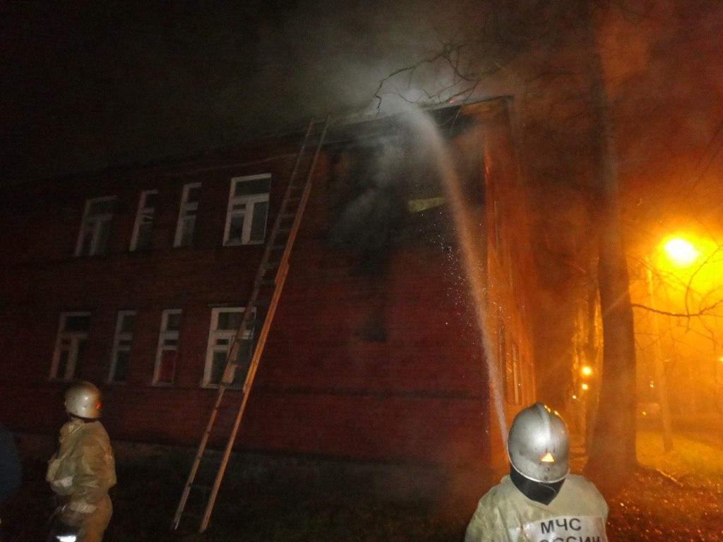 В Череповце расследуют поджог жилого дома на Биржевой