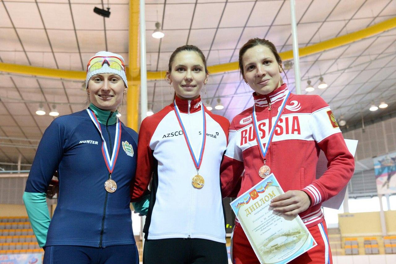 """Два """"золота"""" и три """"серебра"""" завоевали вологодские конькобежцы на VI этапе Кубка страны"""