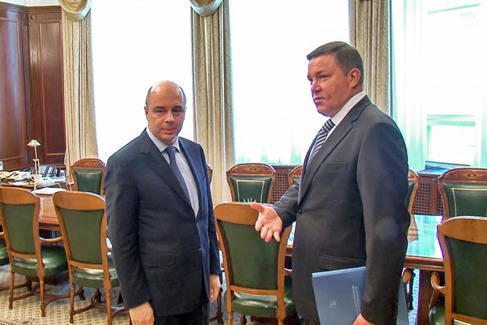 Вологодчина получит 1,6 млрд рублей в кредит из федеральной казны