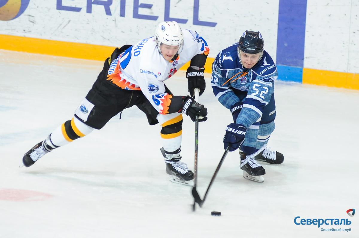 Череповецкий «Алмаз» не смог пробиться в полуфинал Кубка Харламова