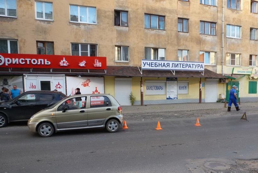 В Белозерске и Вологде дети попали под колеса автомобилей