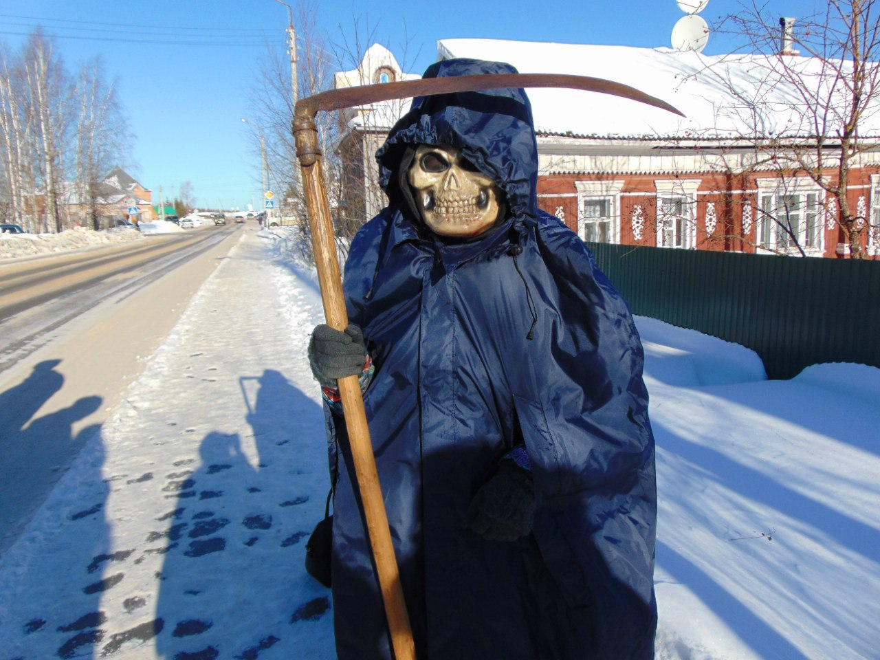 По улицам Тотьмы ходила смерть с косой