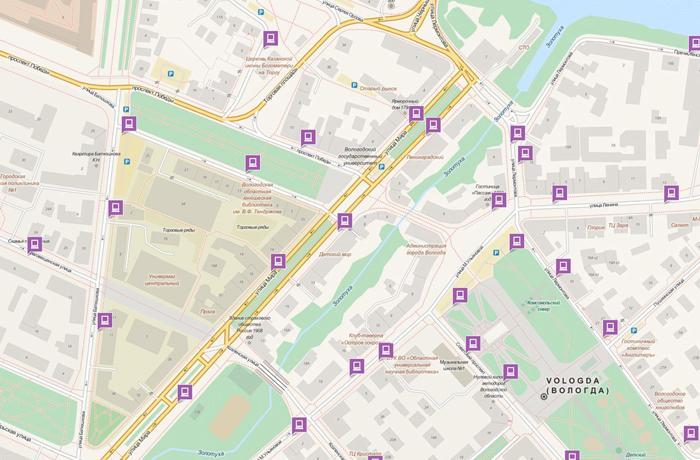 Платные парковки в Вологде обойдутся в 89 млн рублей