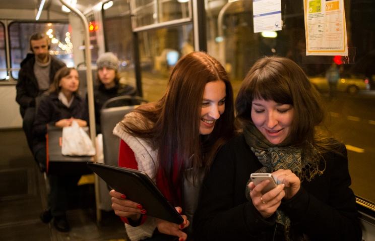 В Вологде в автобусе № 40 появился WI-FI