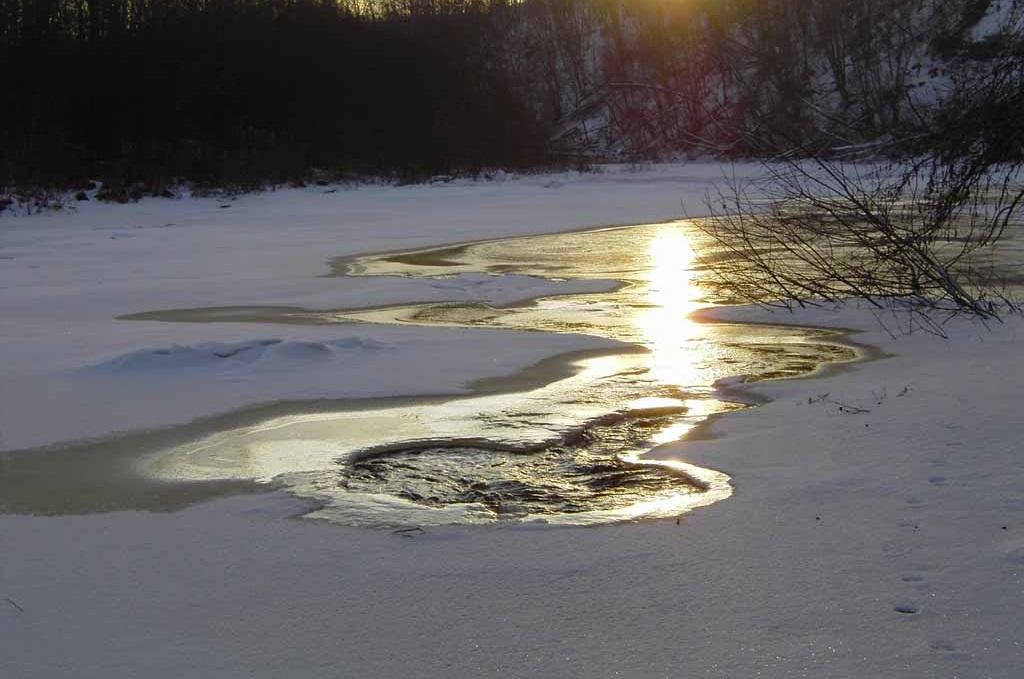 В Великоустюгском районе мужчина провалился под лед и утонул