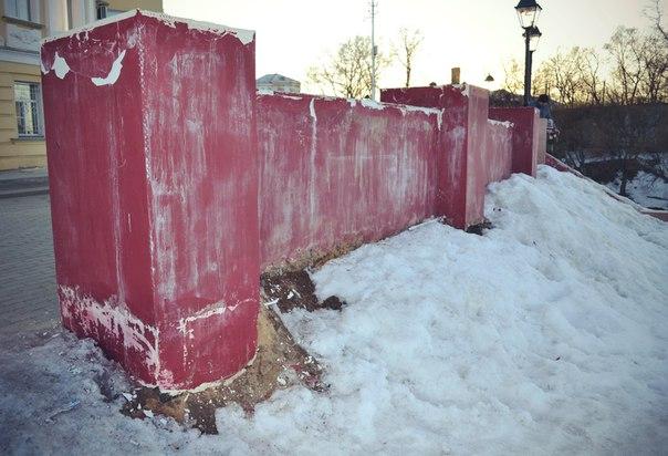 Строитель новой набережной в Вологде продолжает винить горожан в ее разрушении