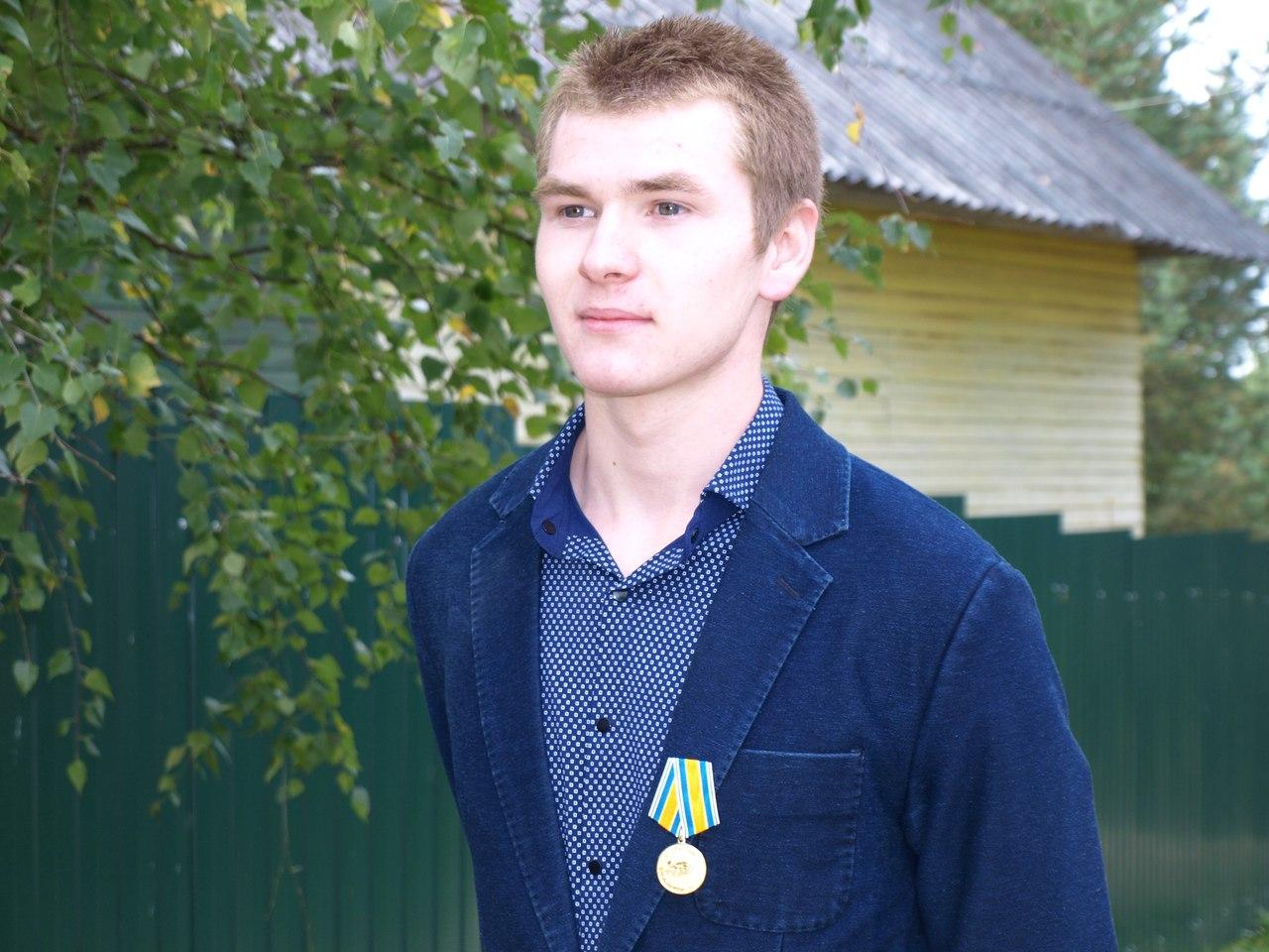 Школьника из Вологодской области наградили медалью «За спасение утопающих»