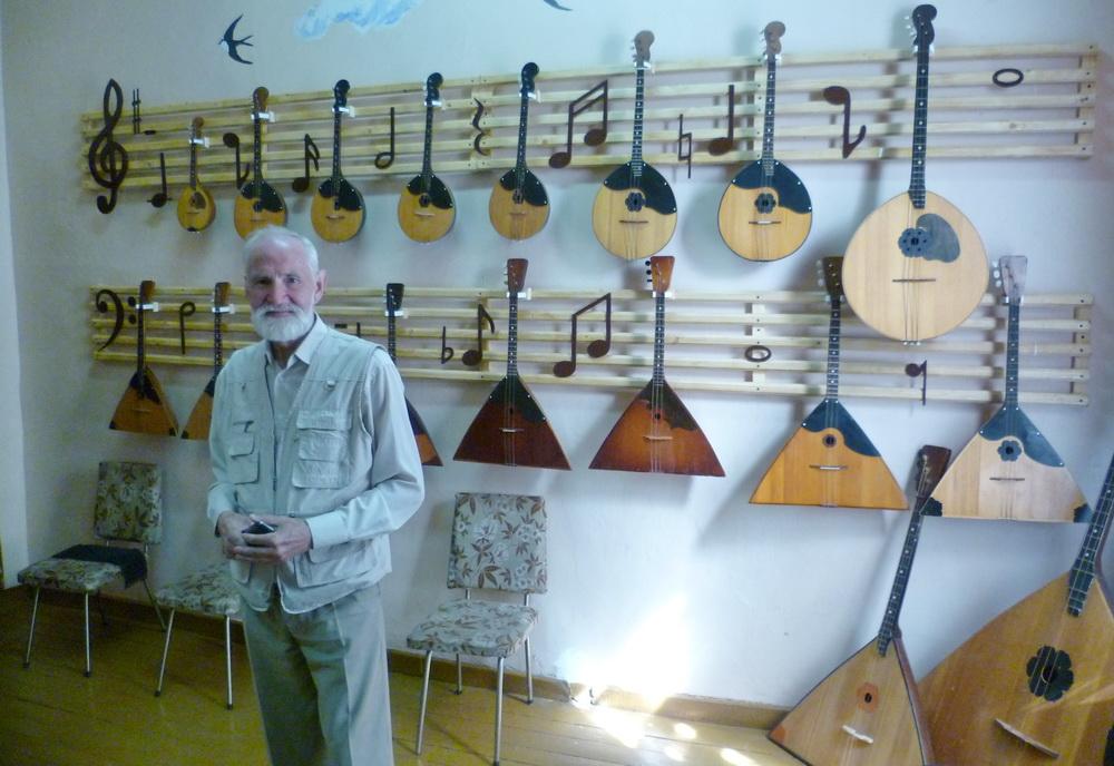 Вологжанин дарит вторую жизнь старинным музыкальным инструментам