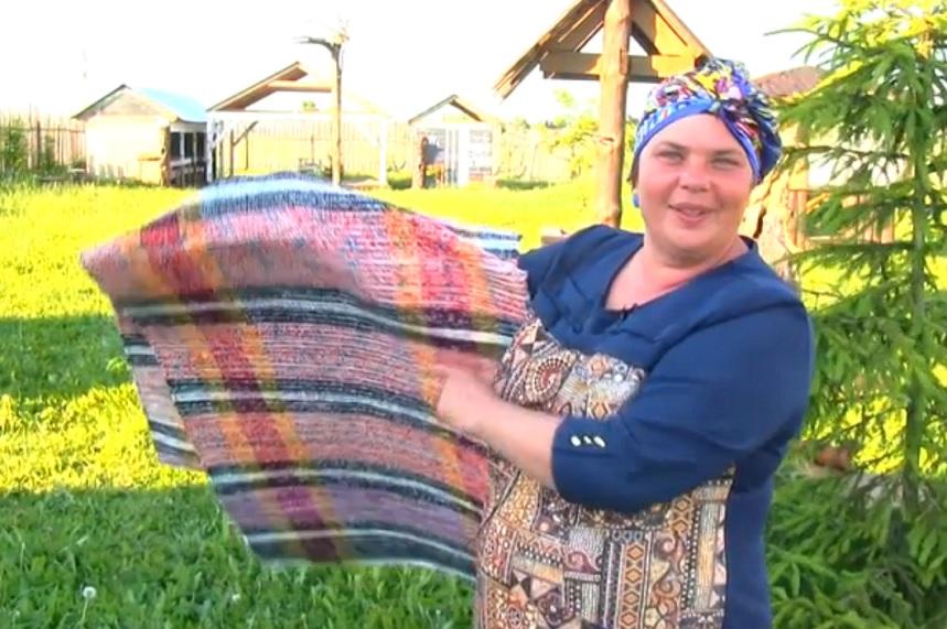 Жительница Череповецкого района собирает деньги на открытие производства половиков