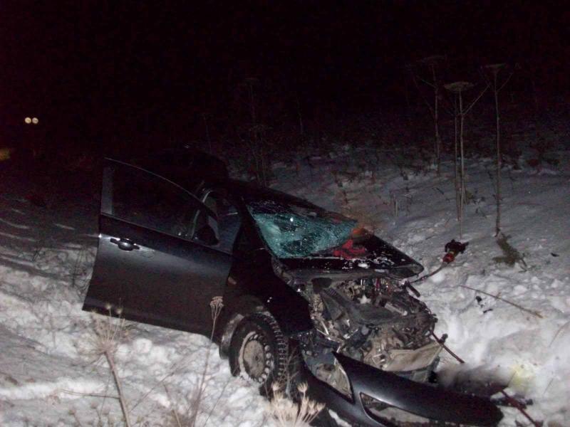 Мужчина погиб в аварии в Великоустюгском районе