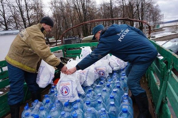 В Вологде организовали пункт сбора помощи жителям Великого Устюга