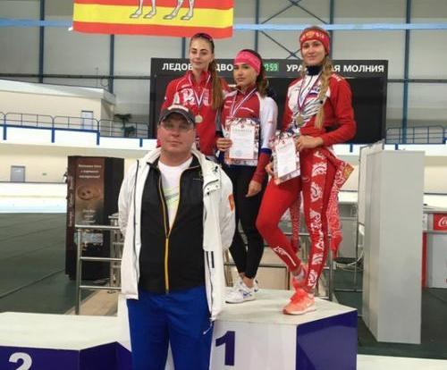 Вологодская конькобежка Ксения Волохова завоевала золото всероссийских соревнований