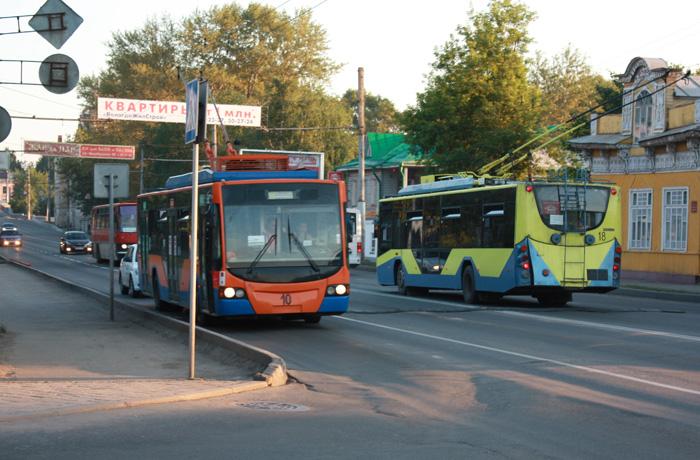 Администрация Вологды берет на себя управление троллейбусным предприятием