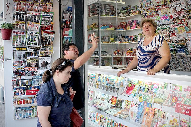 В Вологде киосков с прессой в восемь раз меньше норматива