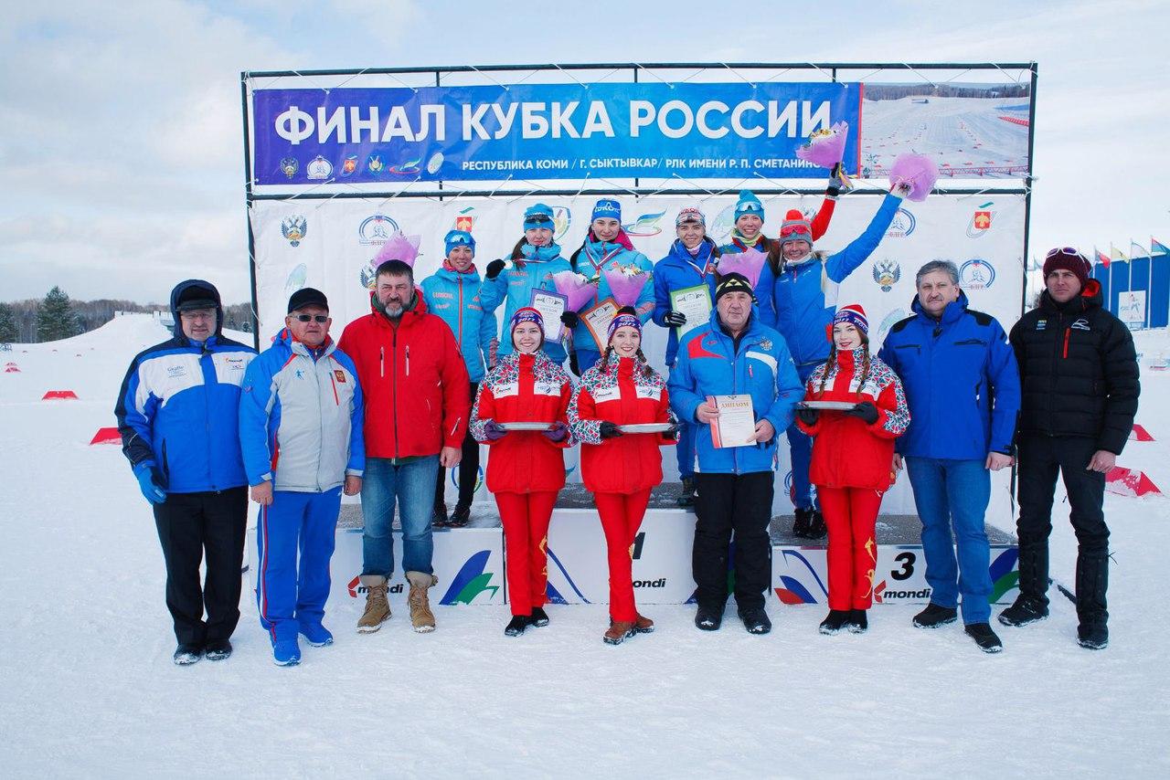 Татарстанские лыжники стали победителями финала Кубка Российской Федерации