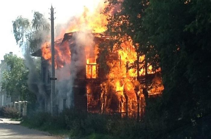 Пожары в Доме со штурвалами в Вологде и на пожарной каланче признаны криминальными