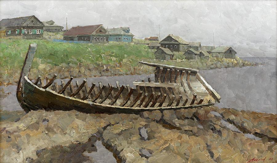 «Простор, красота и духовность России»: В Кириллове открывается выставка костромского художника