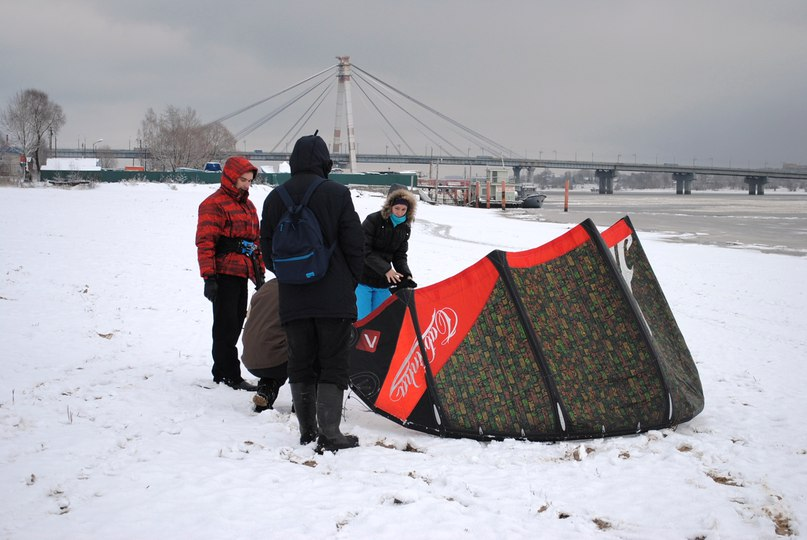 Бесплатные занятия по кайтингу пройдут в Череповце