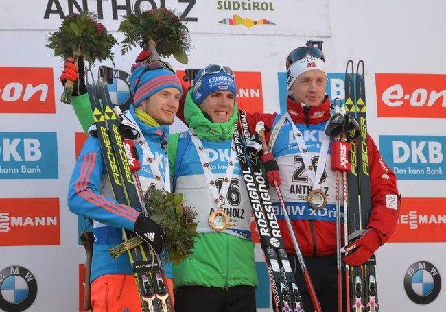 Вологодский биатлонист Максим Цветков завоевал первую личную медаль на этапе Кубка мира