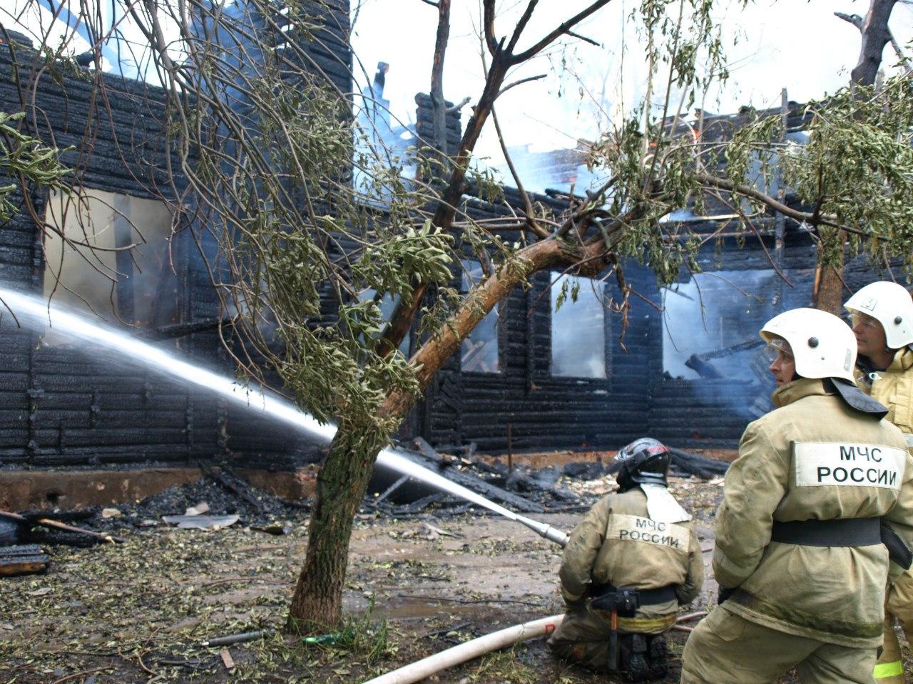 Предварительная причина пожара на Пригородной в Вологде - поджог