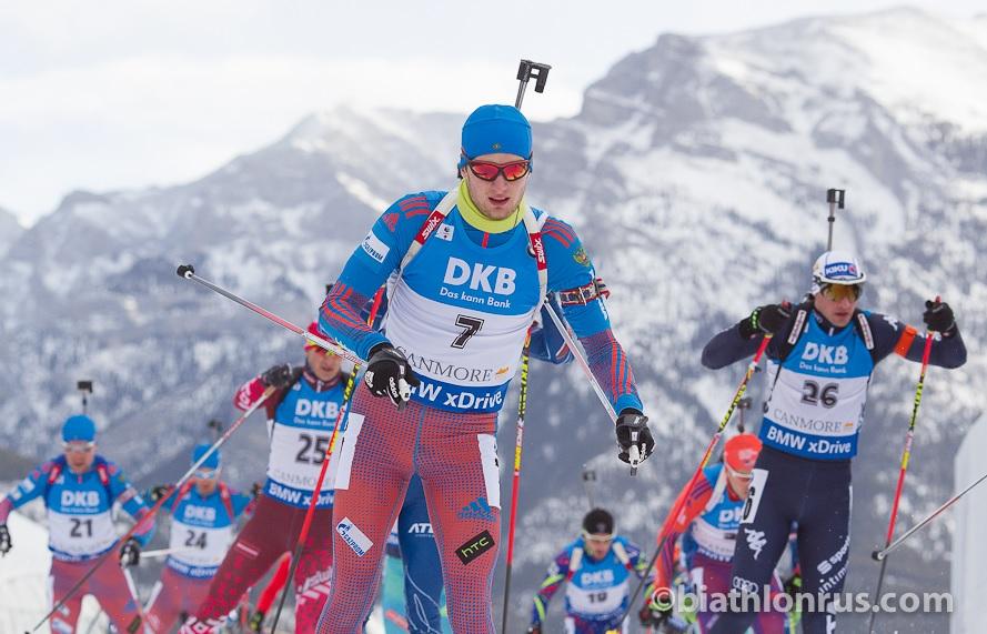 Максим Цветков не смог завоевать призовых мест на этапе Кубка мира по биатлону в Канаде