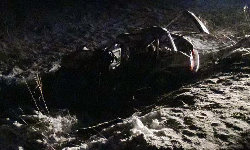 В Грязовецком районе столкнулись ВАЗ и МАЗ: погибла водитель легкового автомобиля
